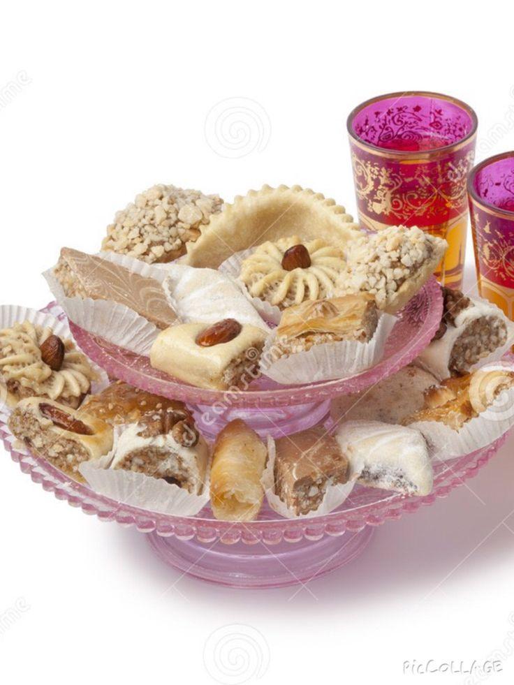 Bij Marokkaanse thee horen ook Marokkaanse koekjes