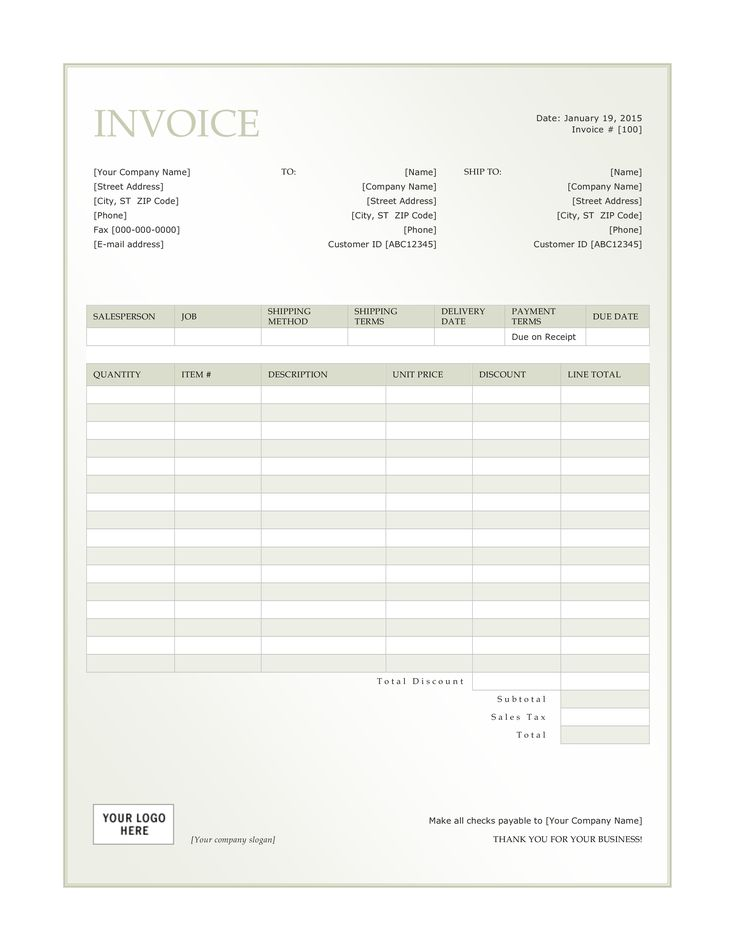 8 best Ideas for the House images on Pinterest Invoice template - How To Make A Invoice Template