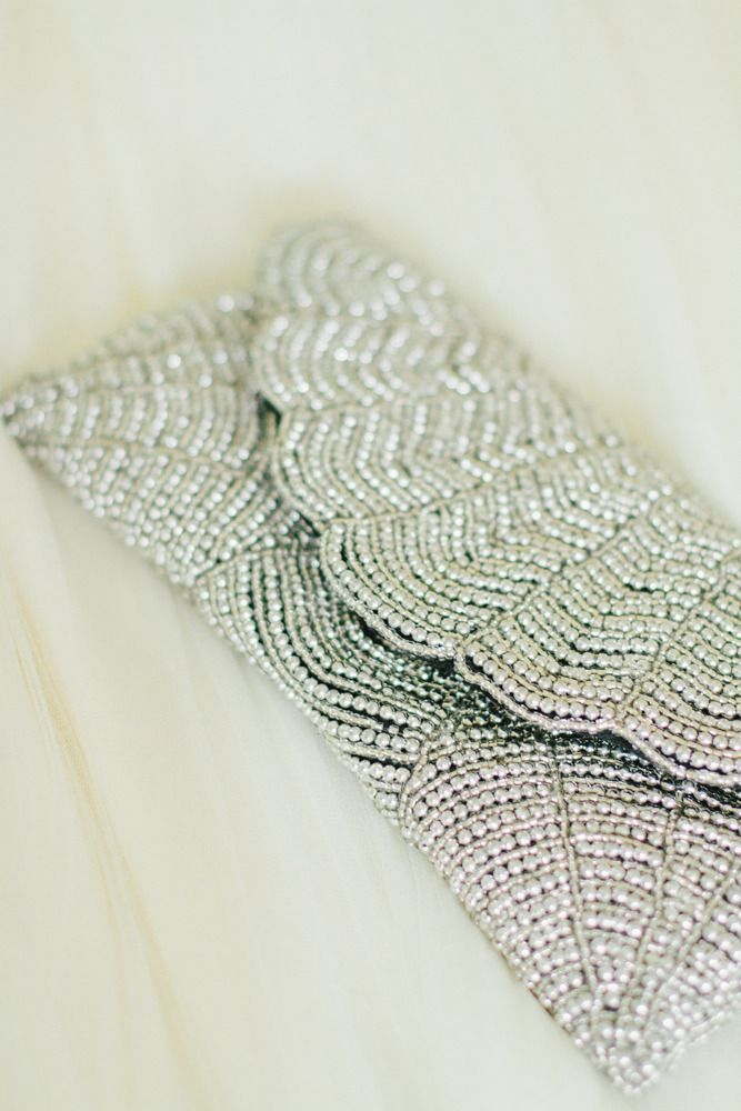 Silver Clutch #wedding #bride