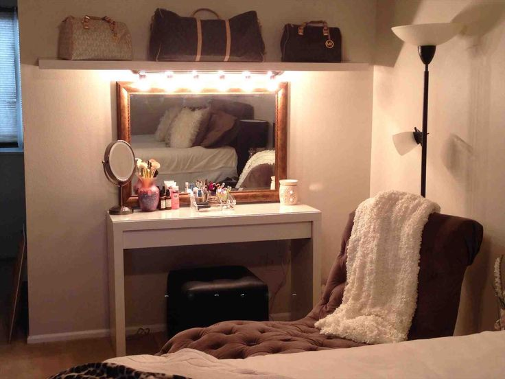 vanity table with lights around mirror. this diy makeup vanity shelf - gallery of brilliant setup for your room also vanities bedroom with lights. table furniture lights around mirror n