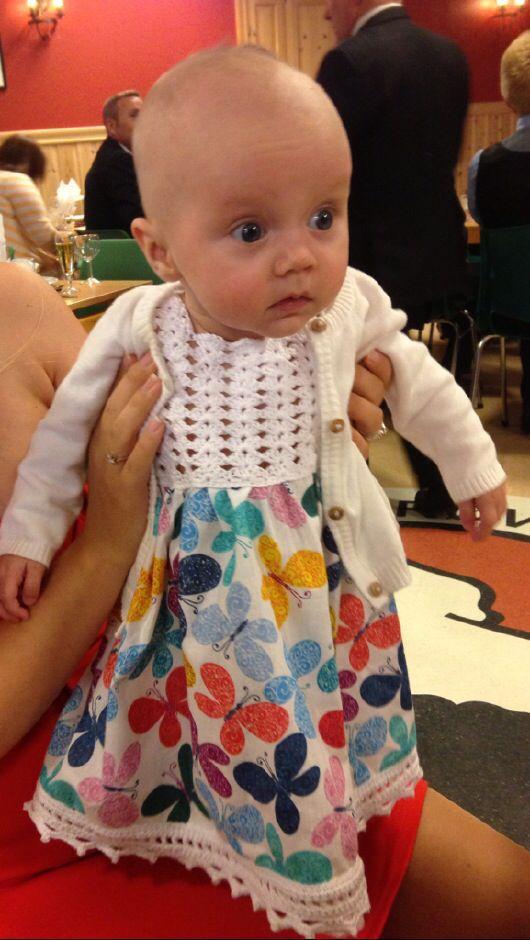 Crochet dress Dale-kjole