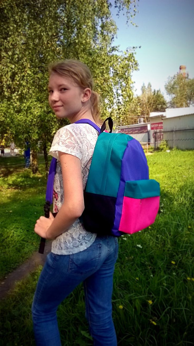 "lightweight backpack ""Variegated"" by Lightbackpacks on Etsy"