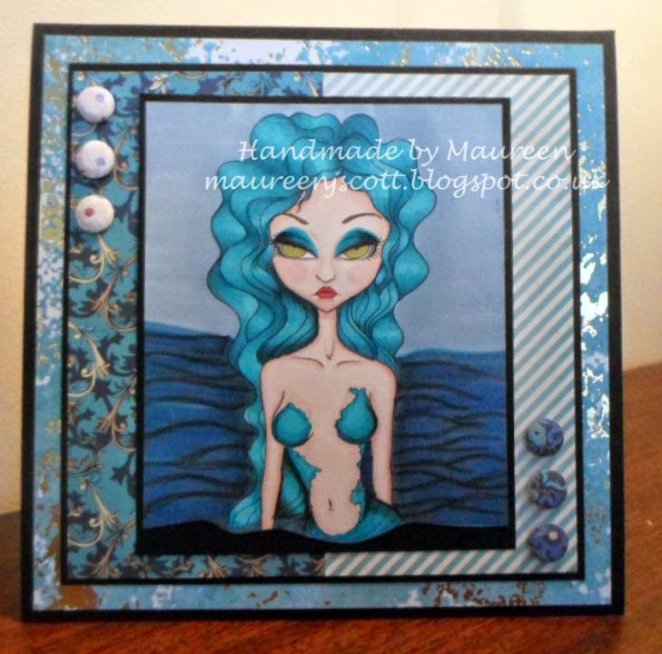 Handmade by Maureen - A Blog: The East Wind Lucy Loo Midnight Mermaid