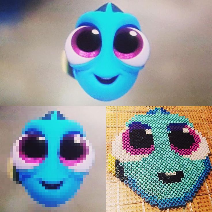 Baby Dory perler beads by fanaticdesigns