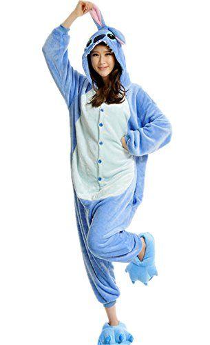 Wealsex Pyjama Animaux Cosplay Halloween Deguisement Adulte Femme Homme Unisexe: * Doux et confortable. Tout neuf et en haute qualité. ,…