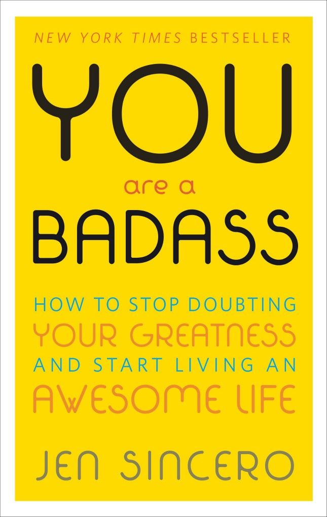You Are a Badass is such a page-turner.