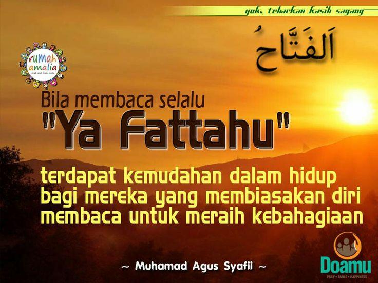 Ya Fattahu