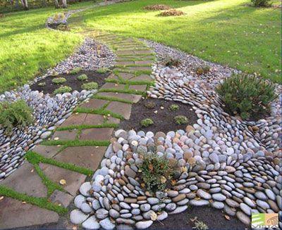 декор из камня в ландшафтном дизайне