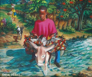 Haitian Art Company Website. Delva Soliman
