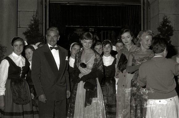 Rolf Wanka, Silvia Morgan 1956