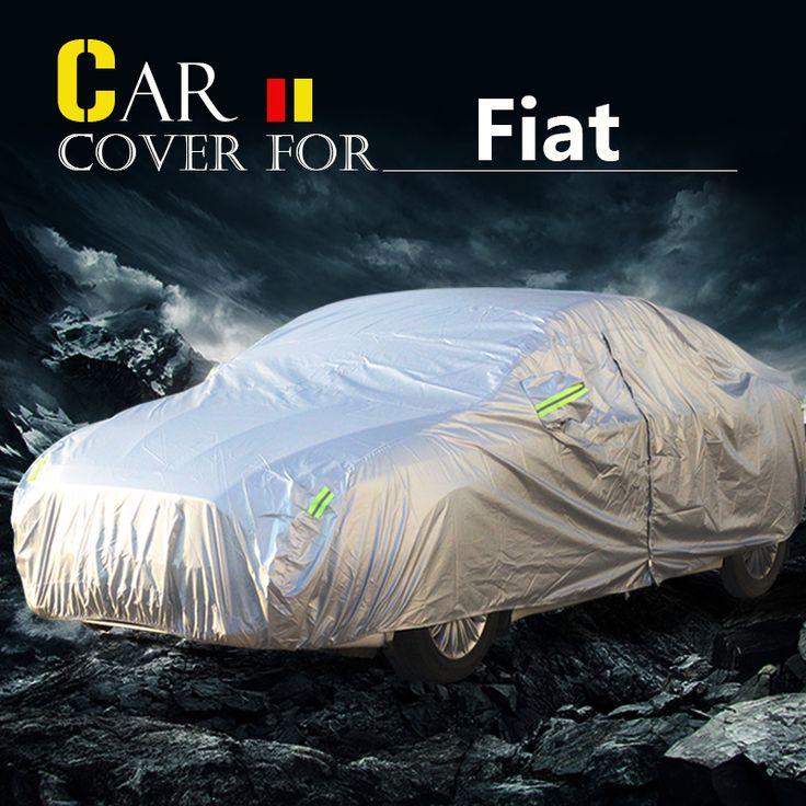 Buildreamen2 Car Cover Waterproof Sun Snow Rain Dust Protector Cover For Fiat Perla Siena Idea Bravo Multipla Linea Uno Ottimo