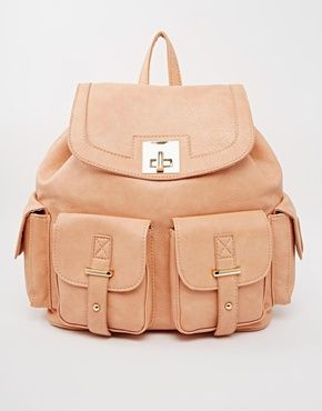 Asos New Look Multi Pocket Backpack - to take w/ me on treks eg. grand canyon etc