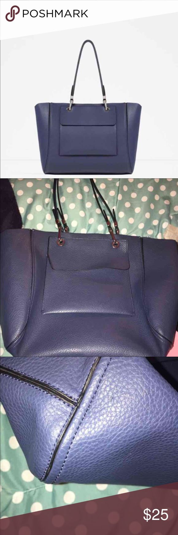 Zara tote bag In good condition  Will come with the Zara dust bag   Open to some offers Zara Bags Totes