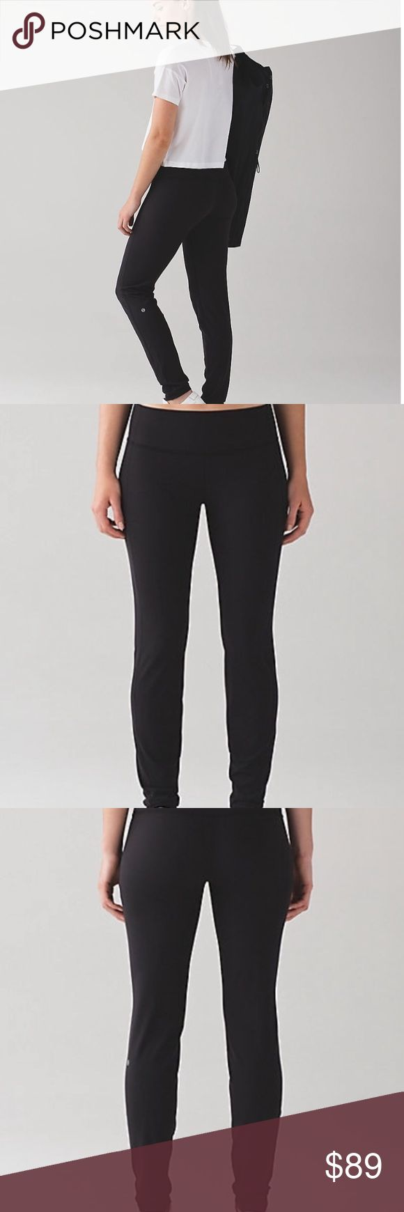 [•JUSTADDED•] LULULEMON Simply Bare Un-Tight Tight BRAND NEW. LULULEMON Naked Simply Bare Un-Tight Tight. NAKED line. Size: 4. Color: black. Love the naked pants line - feels like butter! Offers accepted! lululemon athletica Pants Leggings