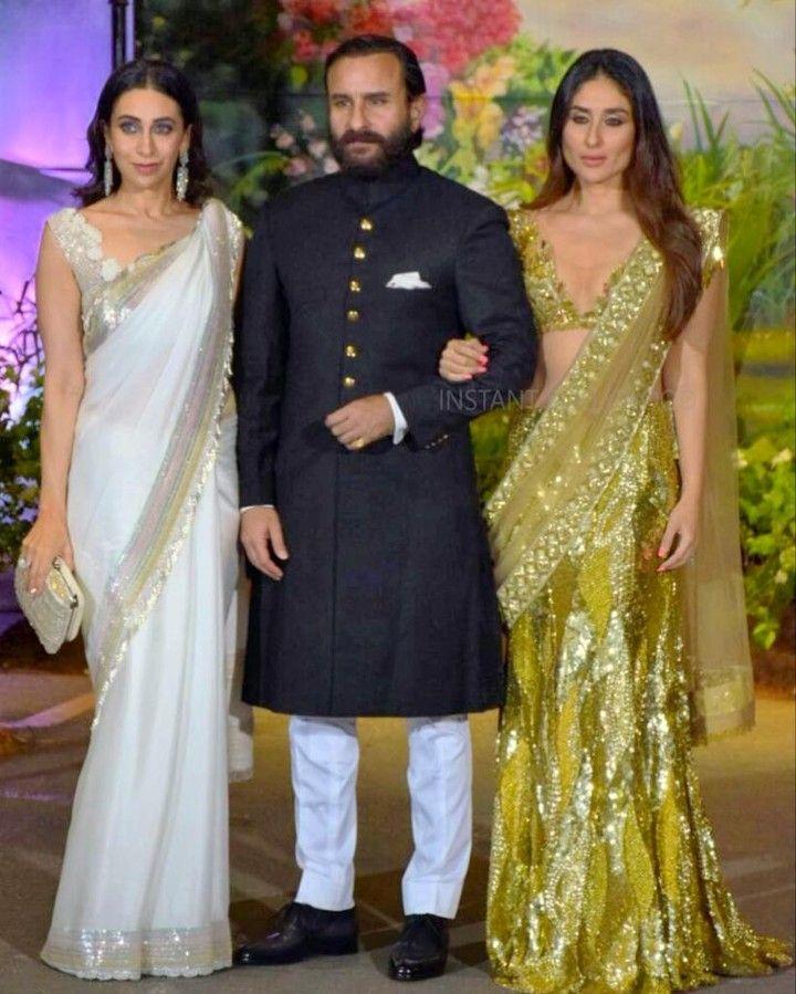 Saif Ali Khan Pataudi With Wife Kareena Kapoor Khan Sis In Law
