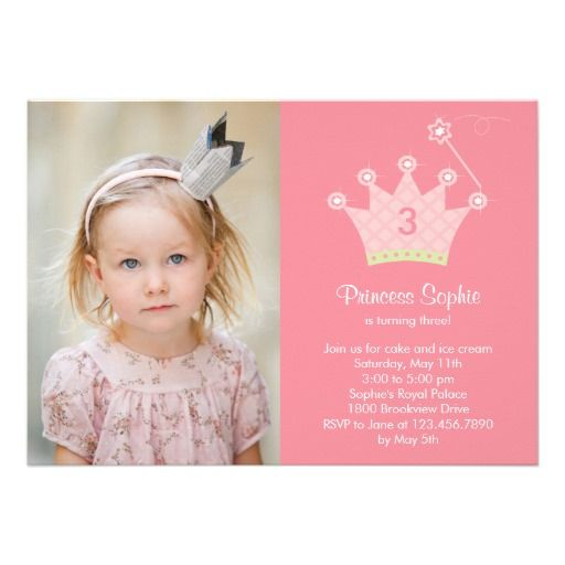 19 best Birthday Party Invitation Templates images on Pinterest - best of invitation template princess