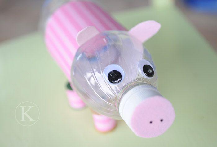 Cute pig bank classroom ideas pinterest for Piggy bank craft