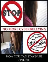 Cyberbullying Needs to Stop CYBER , BULLYING , SAFETY , INTERNET, KIDS ,   TEENS , ADULTS ,PARENTS ,TEACHERS ,SCHOOLS 25% of teenagers report that they experience repeated bullying via the internet or their phone   Approximately 50 percent of social networking website users have witnessed some kind of cyberbullying   A shocking number of teens, approximately 95% who witness cyberbullying never report the attack  Taking a Stand against Cyberbullying is What matter  www.cyberbullysupport.com