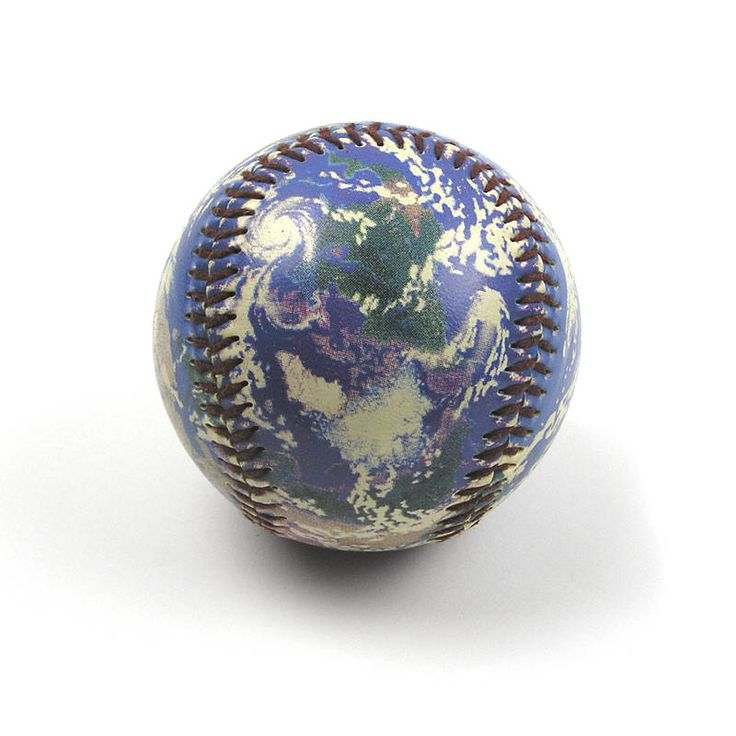 A personal favorite from my Etsy shop https://www.etsy.com/listing/539104036/vintage-1995-planet-earth-baseball-globe