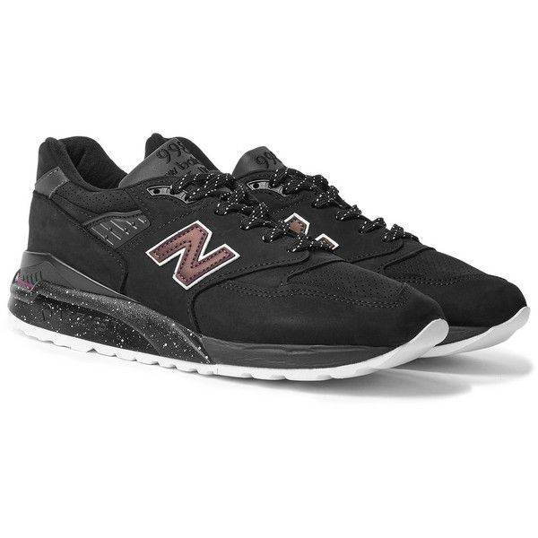 New Balance 998 Suede, Textured-Leather and Mesh Sneakers (10.740 RUB) via Polyvore featuring men's fashion, men's shoes, men's sneakers, mens suede sneakers, mens mesh shoes, mens mesh sneakers, mens retro sneakers и mens retro shoes