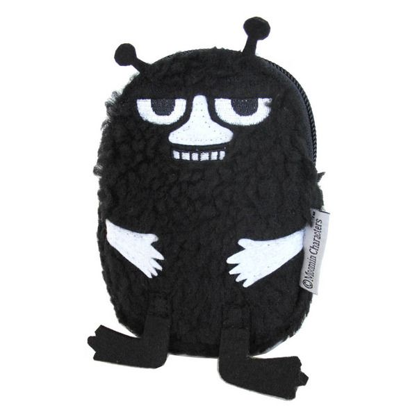 A Money Purse with a zipper in the shape of the beloved Stinky. Material: Soft terry cloth.