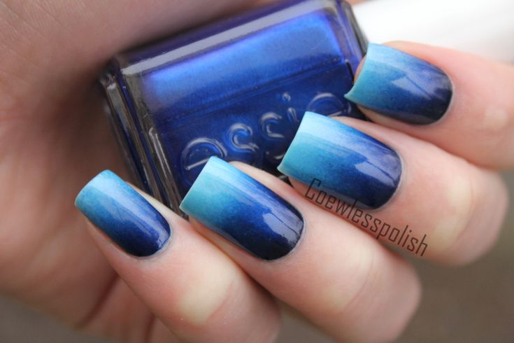 perfect blue gradient!