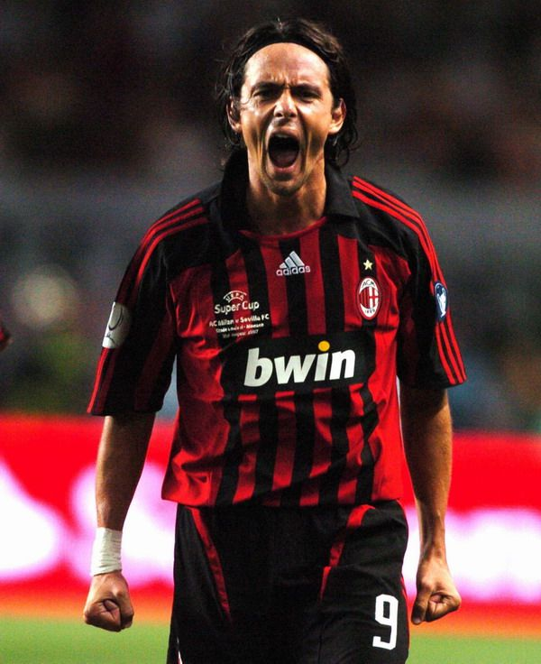 After several years, 300 matches, Filippo Inzaghi will leave AC Milan! You will always be in our heart! Great Champion!