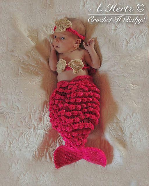 Mejores 12 imágenes de Mermaid Tail Crochet Patterns en Pinterest ...