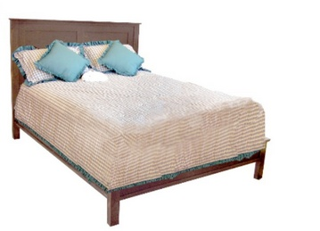 Canadian Woodcraft  - Riverside Panel Bed , $775.00 (http://www.canadianwoodcraft.ca/accesories/riverside-panel-bed/)