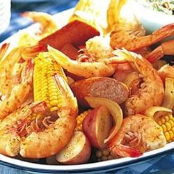 Low Country Boil – Old Bay Shrimp Fest  – Chesapeake Bay Staple – Picnic Food – Beach FoodApril Parker