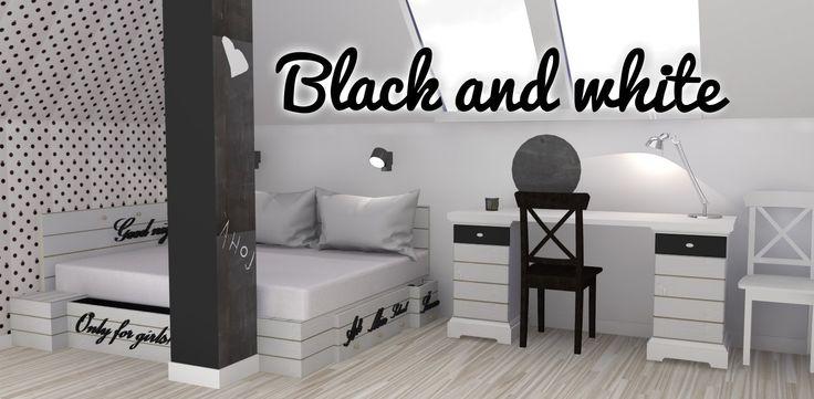 Black and white interiér 1. část