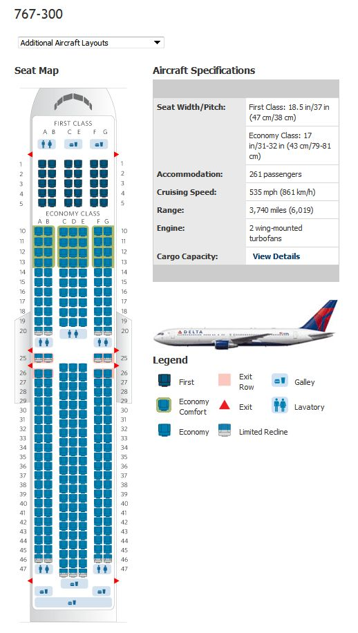 Delta Airbus Jet Seating Chart