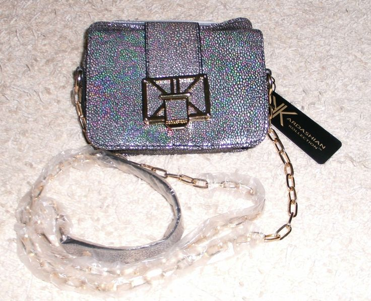 Kardashian Kollection Iredescent Handbag #KardashianKollection #ShoulderBag