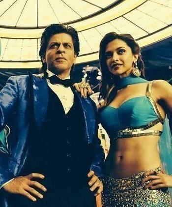 Shah Rukh Khan. SRK. Deepika Padukone. Happy New Year