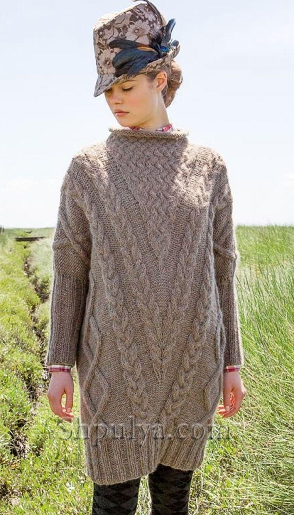 платья спицами описания схемы, вязаное платье, платье крючком описание схема, туника спицами с описанием, схема вязания платья,