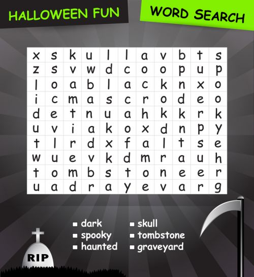 Infuse your Halloween fun with this spooky word search puzzle! This free and printable Halloween word search is fun and made to the highest quality standards!