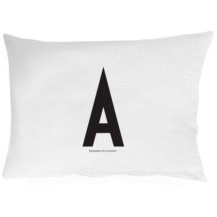 design letters putetrekk 50x70 A