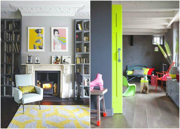 Лепнина и деревянные балки в интерьерах в стиле поп-арт #interior #мебель #дизайн #интерьер #дом #уют #декор