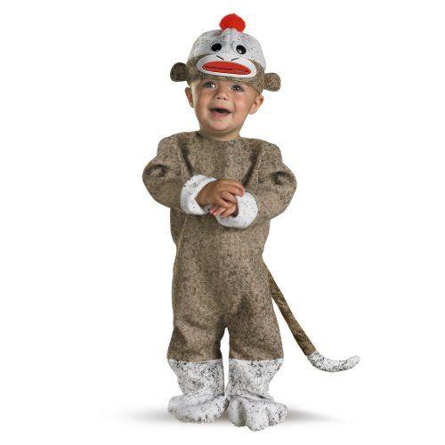 nice Disguise Inc All NEW Sock Monkey Baby Costume