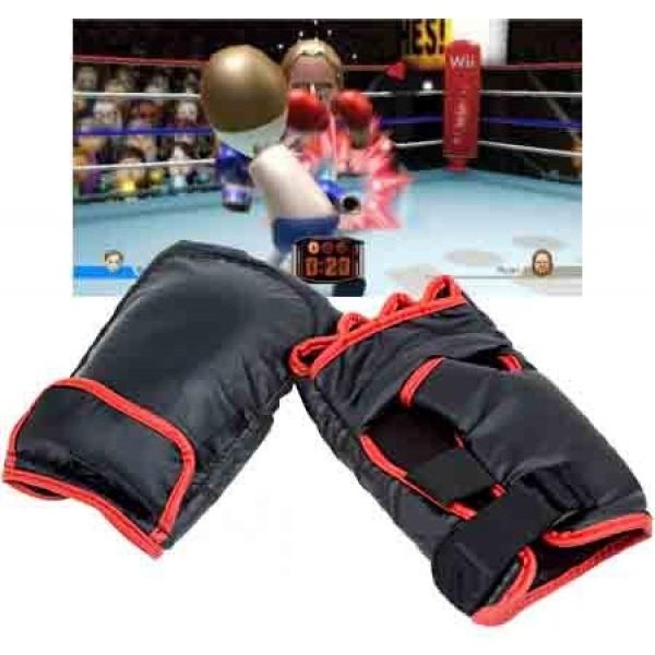 Sácale todo el partido a tu wii, la consola mas divertida del mercado. Disfrute de los juegos wii de boxeo de la manera más realista con estos estupendos guantes de boxeo. Cómodos y divertidos. Compatible con la Wii de Nintendo. http://shopadicted.com/366-accesorios-wii-guantes-de-boxeo.html