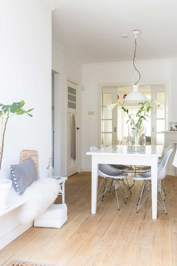 25+ beste ideeën over Witte eetkamers op Pinterest - Slaapkamer ...