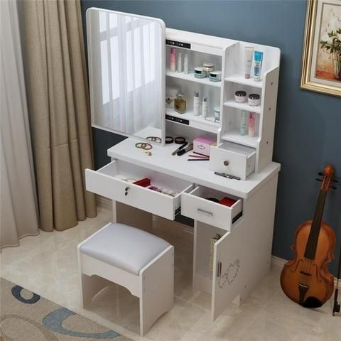 Dresser bedroom make-up table simple modern small mini-size vanity - The JfJ