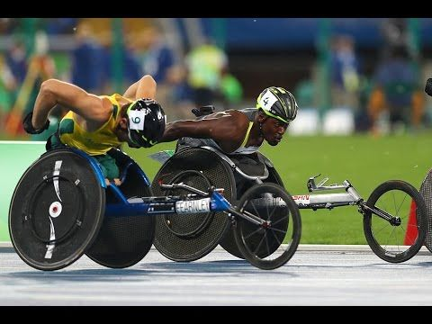 Athletics | Men's 5000m - T54 Final | Rio 2016 Paralympic Games - YouTube