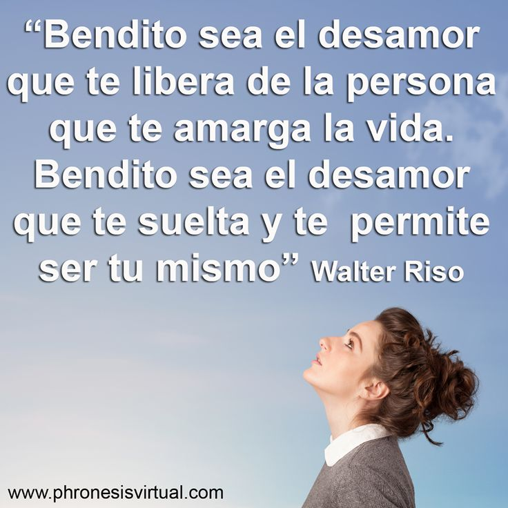 Walter Riso. #desamor