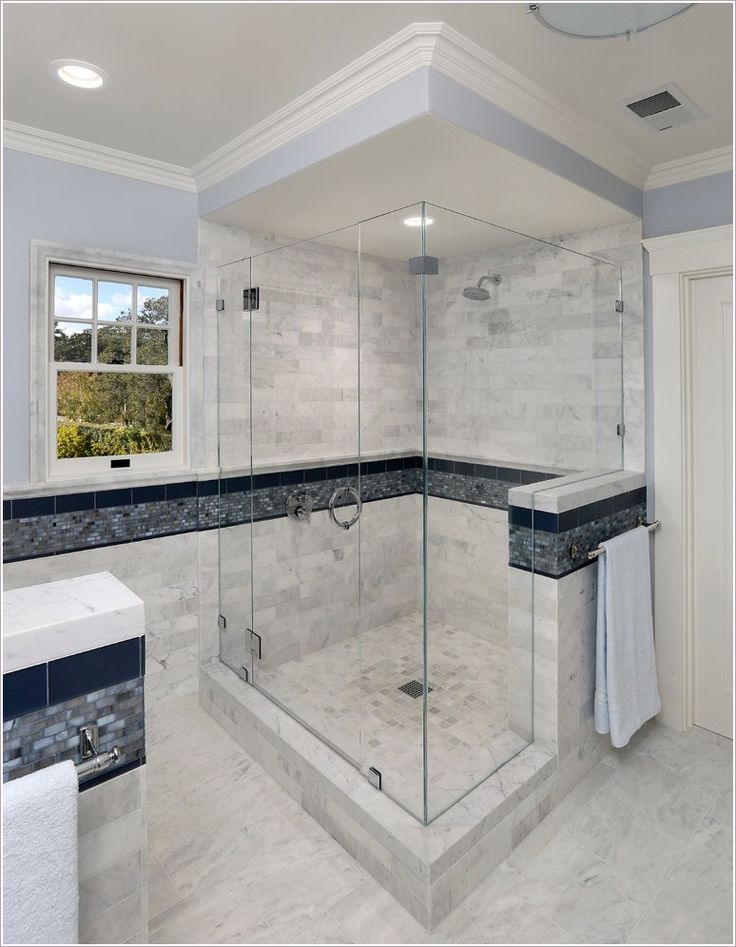 Glass Shower Doors, Drop In Tub Shower Doors, Subway Tile Shower ...