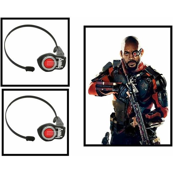 12 Steps to Cosplay Deadshot Ultimate DIY Deadshot Costume Guide... via Polyvore featuring costumes, comic book, comic book character costume, cartoon character halloween costumes, superhero costumes and cartoon character costumes