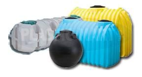 Plastic Septic Tanks come in different sizes and shapes...