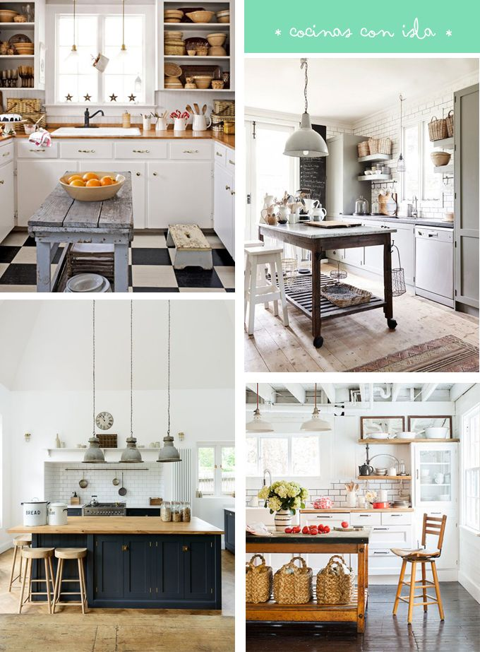 nuestra casa ideal tiene s o s una cocina con isla hoy nos dedicamos a fantasear y a compartir todas las cocinas con isla que caben en nuestros sueos - Cocinas Amuebladas