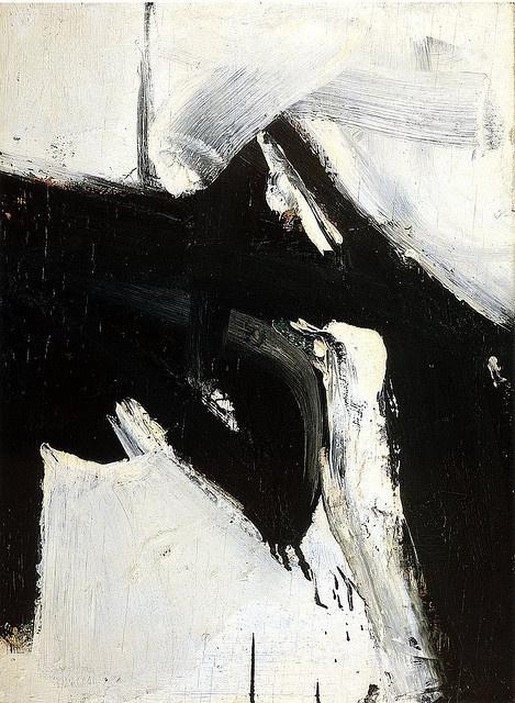 Franz Kilne  #minimal #black #white
