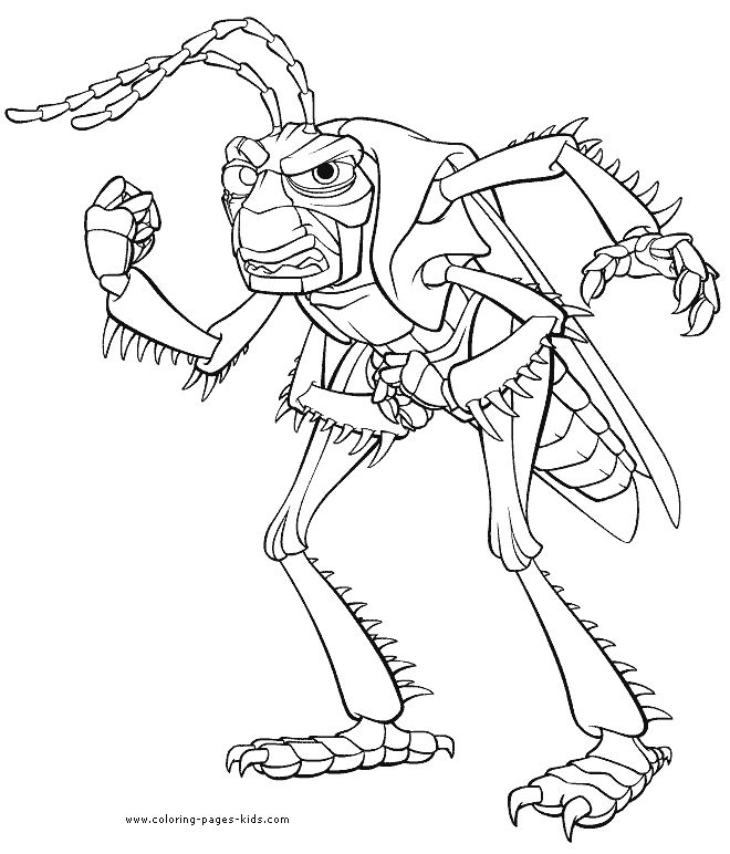 8 best Bugs Life coloring pages images on Pinterest | A bug\'s life ...